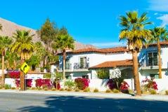 Palm Springshuis Stock Afbeeldingen