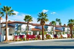 Palm Springshuizen Stock Afbeeldingen