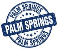 Palm Springsstämpel royaltyfri illustrationer