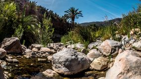 Palm Stone Timelapse 4k. 3-Axis timelapse of a valley in Morocco. Shot in 4k stock video footage