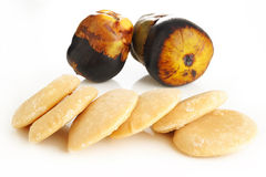 Palm sugar Royalty Free Stock Images