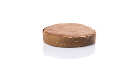 Palm Sugar. Over white background stock images