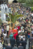 Palm Sunday in Galicia (Spain) Royalty Free Stock Photo