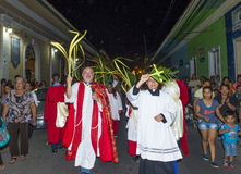 Palm sunday in Geanada Nicaragua Royalty Free Stock Image