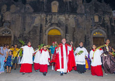 Palm sunday in Geanada Nicaragua Royalty Free Stock Images