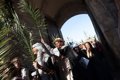 Palm Sunday in Jerusalem Stock Photos