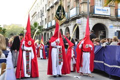 Palm Sunday in Spain Royalty Free Stock Image