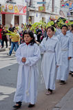 Palm Sunday  in Sucre, Bolivia Royalty Free Stock Photo
