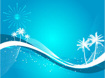 Palm tree background Stock Photo