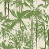 Palm tree grunge pattern Stock Image