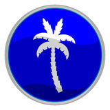 Palm tree icon Stock Image