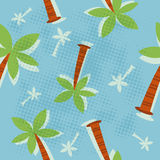 Palm tree pattern royalty free stock images