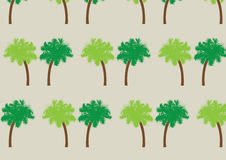Palm tree pattern. Two palm tree seamless pattern Royalty Free Stock Photography