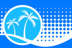 Palm Trees Royalty Free Stock Photography