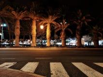 Night-time scenery of Lanzarote stock photos