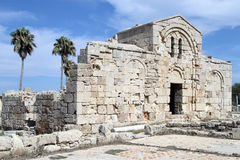 Ayios Philion church Royalty Free Stock Images
