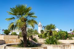 Kasbah Square in Tunis royalty free stock photo