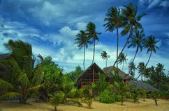 Summer cottage in Sri Lanka Stock Photos