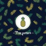 Palm verse ruwe naadloze textuur vector illustratie