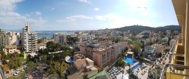 Palma από τον ουρανό στοκ φωτογραφία με δικαίωμα ελεύθερης χρήσης