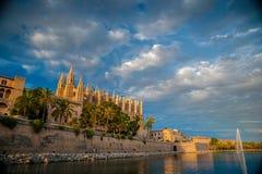 palma καθεδρικών ναών de Μαγιόρκ&alpha Στοκ Εικόνες