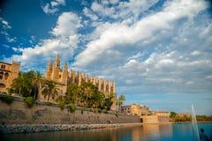 palma καθεδρικών ναών de Μαγιόρκ&alpha Στοκ εικόνα με δικαίωμα ελεύθερης χρήσης