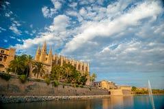 palma καθεδρικών ναών de Μαγιόρκ&alpha Στοκ φωτογραφία με δικαίωμα ελεύθερης χρήσης