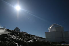 palma обсерватории la Стоковые Изображения