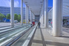 Palma airport Son Sant Joan outdoors Royalty Free Stock Photo