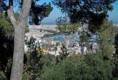Palma-Ansicht mit Gebäuden EL Terreno Stockfotografie