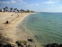 Palma Beach. Beach in Palma of Majorca (Balearic Islands), just near the city Stock Photos