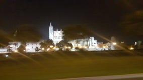 Palma catedral obraz stock