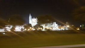 Palma catedral immagine stock