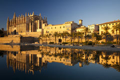 Palma Cathedral Royalty Free Stock Image