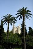 Palma Cathedral. Exterior of La Seu Cathedral in Palma de Mallorca, Spain Royalty Free Stock Photos