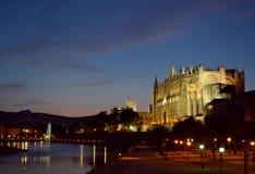 Palma Cathedral foto de stock