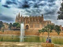 Palma Cathedral Foto de archivo libre de regalías