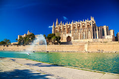 Palma Cathedral also known as La Seu Royalty Free Stock Image