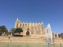 Palma Cathedral, España - terminada en 1601 foto de archivo libre de regalías