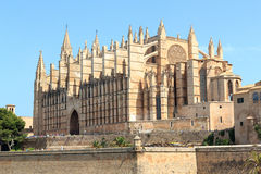 Palma Cathedral in Majorca Royalty Free Stock Photography
