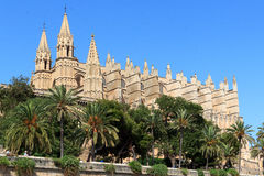 Palma Cathedral in Majorca Royalty Free Stock Images