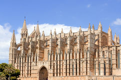 Palma Cathedral in Majorca Stock Image