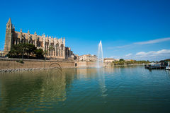 Palma cathedral Stock Photography