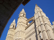 Palma cathedral Royalty Free Stock Images