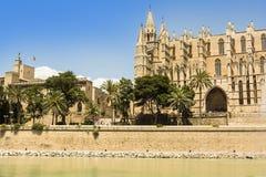 Palma Cathedral Stock Image