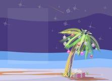 Palma de la Navidad libre illustration
