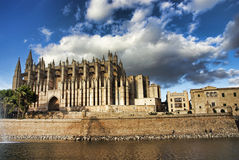 Palma de Majorca Cathedral Royalty Free Stock Photo