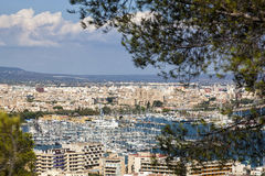Palma de Majorca cityscape Royalty Free Stock Photography