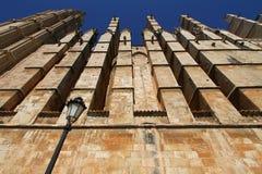 Palma de Majorca's cathedral Royalty Free Stock Image