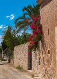 Palma de Majorca - spanisches Dorf Stockfotografie